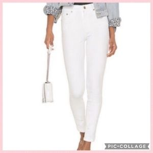 Pistola White Denim Jeans